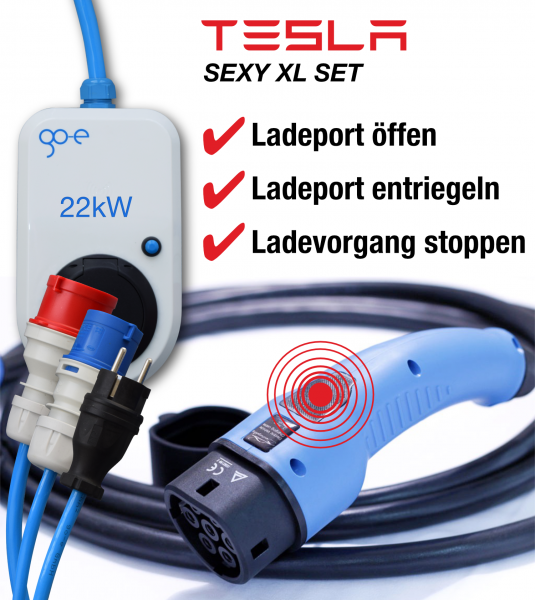 go-eCharger — S 3 X Y Tesla Set XL
