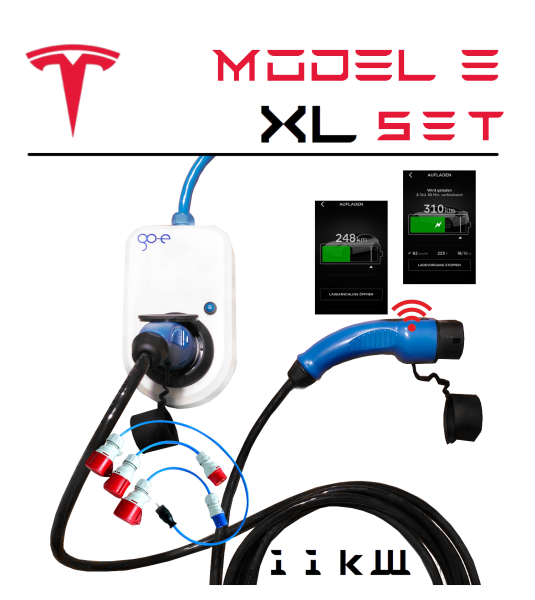 go-eCharger — Tesla Model 3 Set XL