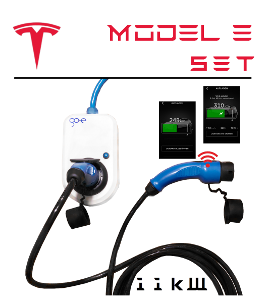 go-eCharger — Tesla Model 3 Set